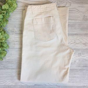 Gap Petite Wide Leg High Rise Utility Pants